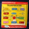TOOTSIETOY MIB DIECAST VEHICLES TRANSPORTATION SET 1700 TRAFFIC JAM BOARD GAME