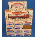 1977 LIONEL ELECTRIC TRAINS WALT DISNEY MICKEY MOUSE EXPRESS DIESEL SET BOX CARS